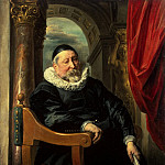 Portrait of an old man, Jacob Jordaens