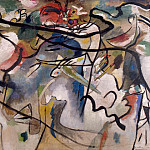 Kandinsky, VV – Sketch to Composition V, Part 05 Hermitage