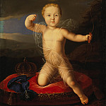 Portrait of baby Prince Peter Petrovich, Part 05 Hermitage