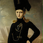 Portrait of a young officer Cossack regiment Dmitriev-Mamonova, Part 05 Hermitage