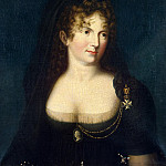 Portrait of Empress Maria Feodorovna. Type Kyugelhena, Part 05 Hermitage