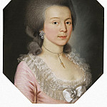 Portrait of a young woman in a powdered wig, Part 05 Hermitage