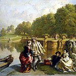 Lee, Joseph Hendrick Hubert – The scene in the park, part 07 Hermitage