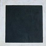 Malevich, Kazimir – Black Square, part 07 Hermitage