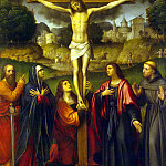 part 07 Hermitage - Luini, Bernardino - Crucifixion with the upcoming