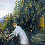 part 07 Hermitage - Laprade Pierre - Lady in the Garden