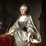 part 07 Hermitage - Lampi, Johann Baptist Elder - Portrait of Catherine II (2)