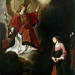 Lastman, Pieter – Annunciation, part 07 Hermitage