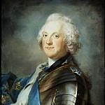 Lundberg Gustav – Portrait of the Swedish King Adolf Frederick, part 07 Hermitage