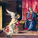 Lippi, Filippino – Annunciation, part 07 Hermitage