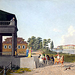 part 07 Hermitage - Laurie, Gabriel Ludwig Senior - View of the Palace of Kamennoostrovsky Pharmaceutical Island in St. Petersburg