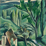 Lot, Andre – Green landscape, part 07 Hermitage