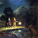 Lyudden, Johann Paul – The Flight into Egypt, part 07 Hermitage