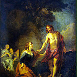 Lafosse, Charles de – Christ Appearing to Mary Magdalene, part 07 Hermitage