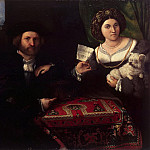 Family portrait, Lorenzo Lotto