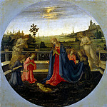 Adoration of the Christ Child, Filippino Lippi