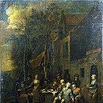 part 07 Hermitage - Lambrechts Jan Baptist - The scene at the tavern