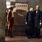 Laurence, Jean-Paul – Emperor Maximilian of Mexico before execution, part 07 Hermitage
