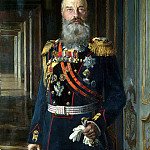 Lipgart, Ernst Karlovich – Portrait of Grand Duke Mikhail Nikolayevich, part 07 Hermitage