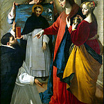 part 07 Hermitage - Maina, Juan Bautista - Appearance of Madonna Dominican monk in Soriano