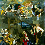 Maina, Juan Bautista – Adoration of the Shepherds, part 07 Hermitage