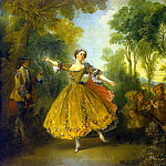 part 07 Hermitage - Lancret, Nicola - Portrait of the dancer Camargo