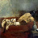 Sleeping Savoyard Boy-, William Leibl