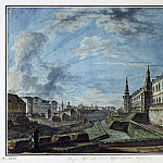 Part 01 Hermitage - Alekseev, Fedor - View of Moscow from the Trinity gates of the Kremlin