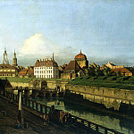 Part 01 Hermitage - Bellotto, Bernardo - Old building Dresden