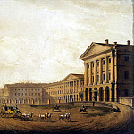 Beggrov, Karl Petrovich – View of the Smolny institute, Part 01 Hermitage
