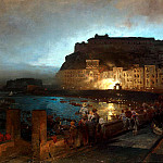 Part 01 Hermitage - Achenbach, Oswald - Fireworks in Naples