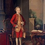 Part 01 Hermitage - Amaral Miguel Antonio do - Portrait of José, Prince of Brazil and Beyranskogo