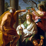 Part 01 Hermitage - Batoni, Pompeo - Mercury, crowning philosophy, the Mother of Art