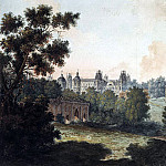Part 01 Hermitage - Alekseev, Fedor - Panoramic view of Tsarina
