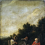 Bout, Peter – Farmers near the tavern, Part 01 Hermitage