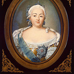 Portrait of Empress Elizabeth, Jean the Younger Benner