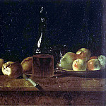 Barbier, A. – Still life with apples, Part 01 Hermitage