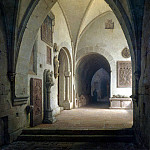 Part 01 Hermitage - Aynmiller, Max Emanuel - Internal view of the church