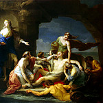 Batoni, Pompeo – Chiron Achilles returns to his mother Thetis, Part 01 Hermitage