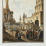 Alekseev, Fedor – Feast of Our Lady of Kazan icon in Red Square, Part 01 Hermitage