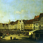 Part 01 Hermitage - Bellotto, Bernardo - Old Market Square in Dresden