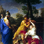Batoni, Pompeo – Hercules at the crossroads between virtue and vice, Part 01 Hermitage