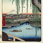Part 01 Hermitage - Ando Hiroshige - Sheet Type bridge Yatsumi-no hashi