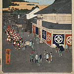 Part 01 Hermitage - Ando Hiroshige - Sheet Street in the area Sitaya
