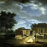 Velky Solechniki. Headquarters. Night from 8 to 9 July 1812, Albrecht Adam