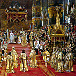 Becker, Georges – Coronation of Emperor Alexander III and Empress Maria Feodorovna, Part 01 Hermitage