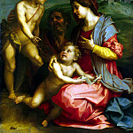 Part 01 Hermitage - Andrea del Sarto - Holy Family with John the Baptist
