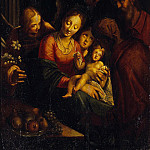 Aachen, Hans von – The Holy Family, Part 01 Hermitage