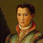 Part 01 Hermitage - Allori, Alessandro - Portrait of Eleanor of Toledo