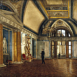 Bellaire, Alexander Ivanovich – View of Apollo Hall of the Winter Palace, Part 01 Hermitage